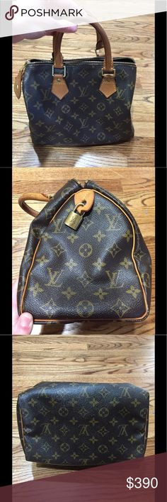 Authentic Louis Vuitton Speedy 25 Authentic LV in excellent condition for being used! Hardly any marks at all on the inside or outside. Originally bought it for $650 Louis Vuitton Bags Satchels