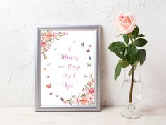 Printable Wall Art, Mom Gift From Daughter, Mother's Day Print, Mom Birthday Gift, Mothers Day Gift for Mom, Digital Prints,Instant Download Types Of Printer, Mom Birthday Gift, Printing Services, Printable Wall Art, Gifts For Mom, Digital Prints, Daughter, Printables, Mothers