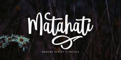 Font dňa – Matahati   https://detepe.sk/font-dna-matahati?utm_content=buffer969cc&utm_medium=social&utm_source=pinterest.com&utm_campaign=buffer