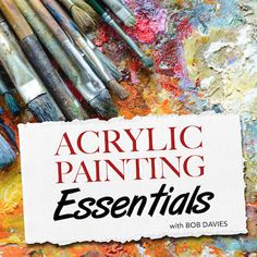 The Acrylic Painting Essentials Course will teach you fundamental acrylic painting techniques that you can then apply to any subject matter you choose to paint. It covers things like materials, brushwork, colour mixing and tonal value. Many of the lessons in our other acrylics courses will assume you know the basics taught in this course, so this a great place to start if you're a newcomer to the medium.