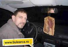 Vand bradulet auto cu aroma de slana - Bulearca.ro Vand, French Toast, Comedy, Breakfast, Morning Coffee, Comedy Theater, Comedy Movies