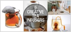 ATMOST20: 9 TEA INFUSERS THAT CREATIVELY DO THEIR JOB