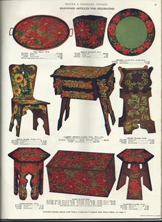 From 1903 Thayer & Chandler, Chicago pyrography catalog, page 37