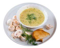 Šampiňónová polievka
