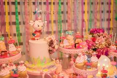 Searching for a dreamy party? This Enchanted Carousel Birthday Party at Kara's Party Ideas is filled with inspiration galore! Carousel Birthday Parties, Carousel Party, Donut Birthday Parties, Donut Party, Birthday Party Themes, Party Party, Donut Cupcakes, Easter Bunny Cupcakes, Bridal Shower