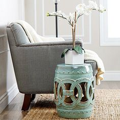 Ideas for Using Garden Stools Indoors | Ideas for Indoor Living