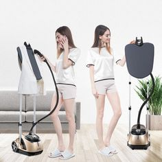 Commercial Professional Dual Bar Garment Steamer With 6 Steam Level Rotary Electric Clothes Ironing Machine Irons Best Garment Steamer, Ironing Machine, Iron Steamer, How To Iron Clothes, Clean House, Garment Steamers, House Cleaners, Lace Patterns, Irons