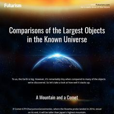 Take a journey through the cosmos, and see some of the largest objects that we've discovered.