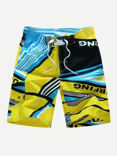 Clothes, Shoes & Accessories WunderschöNen Mens Swim Shorts Swimming Board Bottoms Trunks Swimwear Beach Summer Quick Dry
