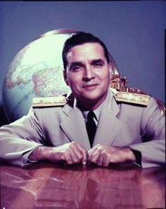 VENEZUELA: Contralmirante Wolfgang Larrazábal Ugueto (1911-2003). Presidente de la República de Venezuela (enero-noviembre de 1958).
