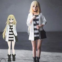 Cosplay Manga rachel and zack cosplay angels of death satsurski no tenshi cosplay anime otaku kawaii cosplay Cosplay Anime, Kawaii Cosplay, Epic Cosplay, Cute Cosplay, Amazing Cosplay, Cosplay Outfits, Video Game Cosplay, Costume Manga, Anime Costumes