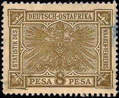 German East Africa 8 Pesa c1900