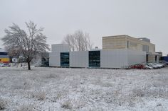Nuestras instalaciones con nieve.