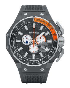 Gran Turismo Chronograph Watch, Gray