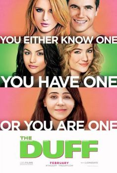 The DUFF on DVD June 2015 starring Mae Whitman, Skyler Samuels, Bianca A. Bianca (Mae Whitman) is a content high school senior whose world is shattered when she learns the student body knows her as 'The DUFF' ( 2015 Movies, Hd Movies, Movies To Watch, Movies Online, Movies And Tv Shows, Netflix Online, Netflix Free, Comedy Movies, Latest Movies