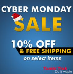 Cyber Monday Sale 10 Off Free Shipping On Select Items Go To Our Website And Click On Special Offers To Find Out Which Products Apply This Is A One