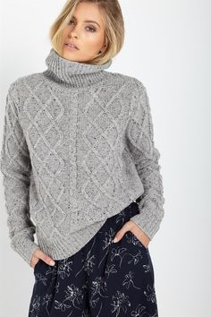 yarra cable pullover  10/10