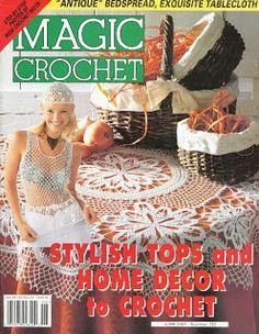 Free Crochet Patterns: Magic Crochet No. 132