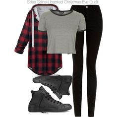 """Teen Wolf - Stiles Stilinski Inspired Christmas Eve Outfit"" by staystronng on Polyvore"