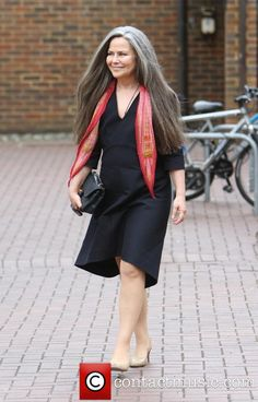 I wish my hair was as thick and full as Koo Stark's ...