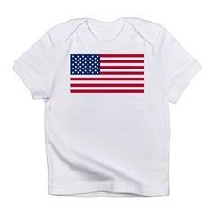 American Flag Infant T-Shirt
