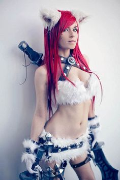 Cosplay sexy de Katarina League Of Legends