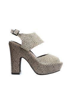 I'm not usually a fan of clunky heels, but I like these.