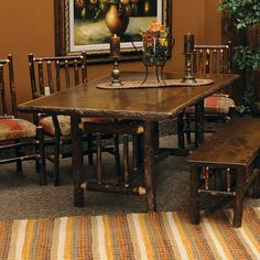 Hickory Dining Room in Espresso Finish