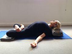 Supta Padmasana A Menstruation Sequence For Everyone | Central Yoga School