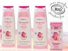 """Protege la piel de tu """"princesa"""" gracias a los #cosméticos #ecológicos de la gama #Alphanova #Princesse: #gel, #champú y crema #hidratante. Libre de sustancias nocivas. 100% #certificado."""
