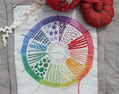 FULL CIRCLE pdf embroidery pattern hand embroidery by cozyblue
