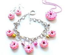Donut Jewelry Set | Community Post: 12 Handmade Gift Sets So Nice You'll Be Tempted To Keep At Least Part Of It
