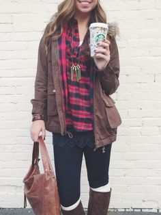 PLAID // who doesn't love this look for fall // now @ Hoity Toity