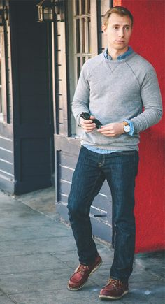 The Getup: Casual Fall Men's Style