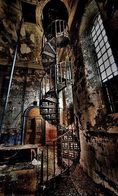 I do love a spiral staircase.