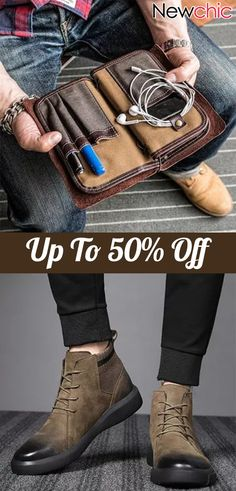 【Shop Now】 Up to OFF Men' Fashion Casual Outfits for You - Bastian B. Fashion Casual, Fashion Bags, Men Fashion, Fashion Outfits, Men Street Look, Dusty Blue, Crea Cuir, Casual Shoes, Casual Outfits