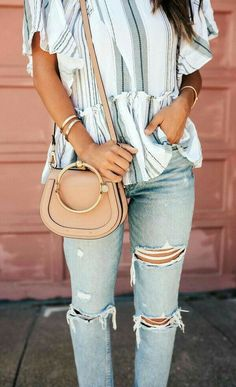357d88fc8c3c6 14 Great Spring is in the Air images   Denim shorts, Dressy outfits ...