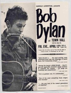 Bob Dylan - The Early Live Show Thread (1960 through 1964) | Steve Hoffman Music Forums