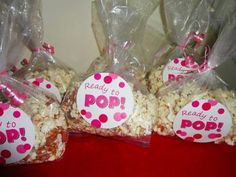 Ready to Pop Baby Shower Favors