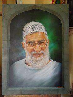 Canvas 65x80cm Oil Paint By; Abduh Sannasa