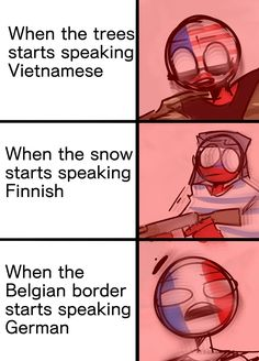 More memes but this time countryhumans (idk :v) credits to the artist Hetalia, Funny Images, Funny Pictures, History Jokes, Human Art, Country Art, Stupid Funny Memes, Really Funny, Wattpad
