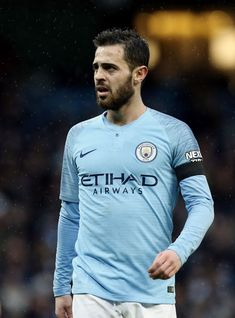 Manchester City's Bernardo Silva during the FA Cup Fourth Round match between Manchester City and Burnley at Etihad Stadium on January 2019 in Manchester, United Kingdom. Get premium, high resolution news photos at Getty Images Manchester England, Manchester City, Manchester United, Messi Soccer, January 26, Burnley, Fa Cup, F1, United Kingdom