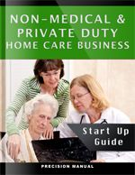 Medical Staffing Manuals provides complete start-up guide or resource to start a non-medical home care business. It's a consulting firm whom you can consult to for your queries related to non-medical home care business.
