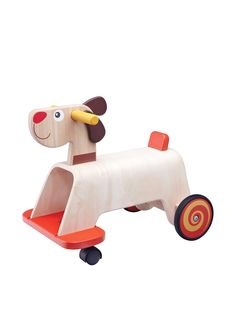Wonderworld Ride-On Puppy at MYHABIT