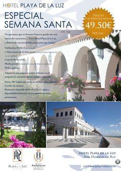 Especial Semana Santa en Hotel Playa de la Luz (Rota - Cádiz) desde 49,50 € ultimo minuto - http://zocotours.com/especial-semana-santa-en-hotel-playa-de-la-luz-rota-cadiz-desde-4950-e-ultimo-minuto/
