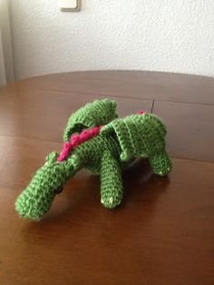 Ganchibearte: Dragon amigurumi