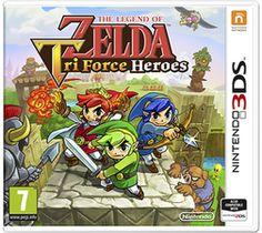 The Legend of Zelda: Triforce Heroes 3DS Cover Art