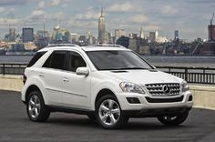 Arbonne is going to buy me one of these!!! Any white Mercedes I want!!! <3<3<3<3   2012 Mercedes Benz ML 320 Bluetec