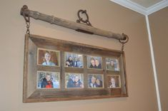 Singletree Barnwood Picture Frame These beautiful Singletree Barnwood Picture Frames are made to ord Cute Picture Frames, Barn Wood Picture Frames, Picture Frame Crafts, Picture On Wood, Wooden Frames, Door Picture Frame, Country Picture Frames, Antique Window Frames, Antique Windows