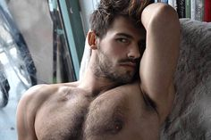 """homotography: """"Tom Zalac by Rick Day """" Hairy Men, Bearded Men, Boy Pictures, Face Men, Male Form, Male Physique, Male Beauty, Male Models, Top Models"""
